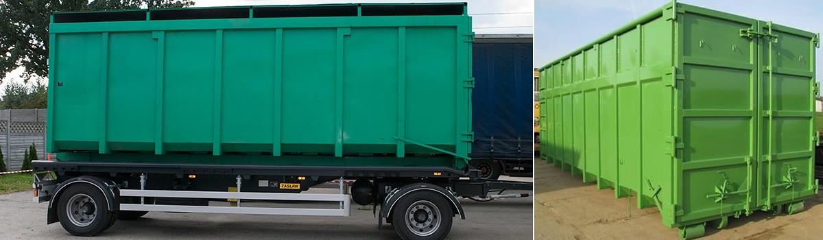 Verleih von Containern - Transport | Beskidzka Koniczynka